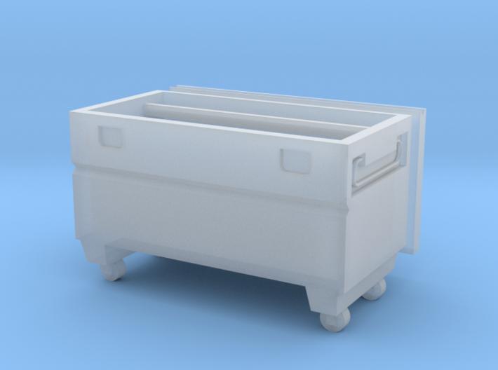 Contractors Tool Bin 1/87 (HO Scale) 3d printed