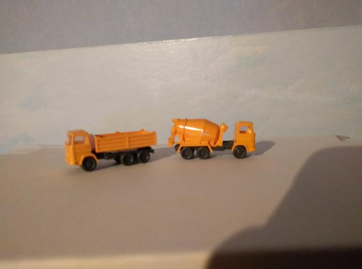 Opbouw vuilniswagen NL voor N spoor BINNENKORT NIE 3d printed