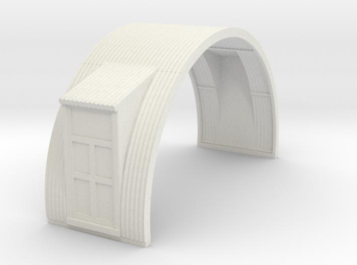 N-76-complete-nissen-hut-mid-16-two-door-1a 3d printed