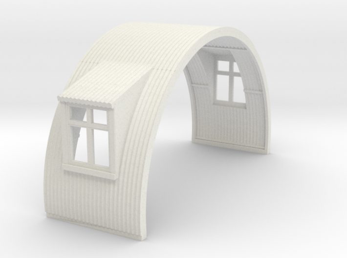N-76-complete-nissen-hut-mid-16-two-wind-1a 3d printed