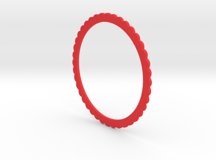 Ingranaggi Bangle - 2mm Thick 3d printed