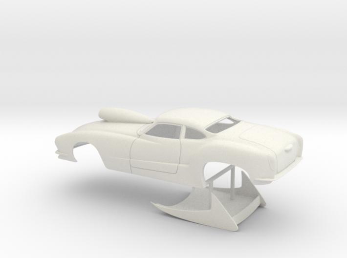 1/16 Outlaw Pro Mod Karmann Ghia 3d printed