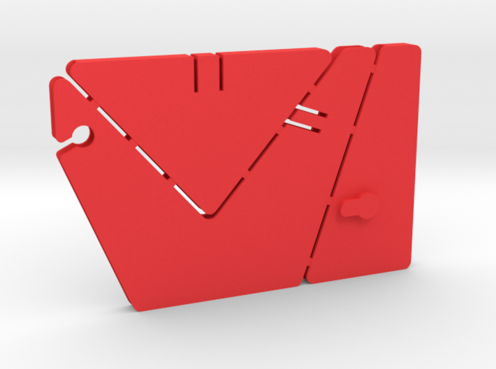 Transforming Gift Card Holder / Business Card Disp 3d printed
