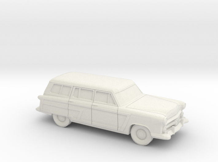 1/87 1952 Ford Crestline Country Squire 3d printed