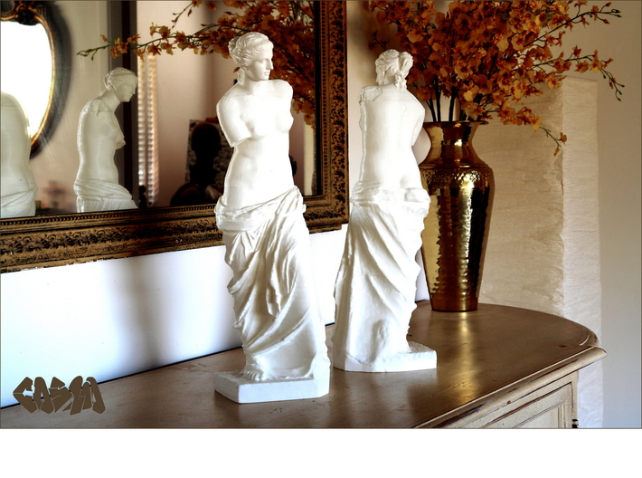 "Venus de Milo (24.25"" tall) 3d printed Venus de Milo (19.4"" version shown)"