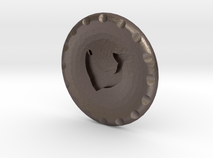 Golf Ball Marker House Tully 3d printed