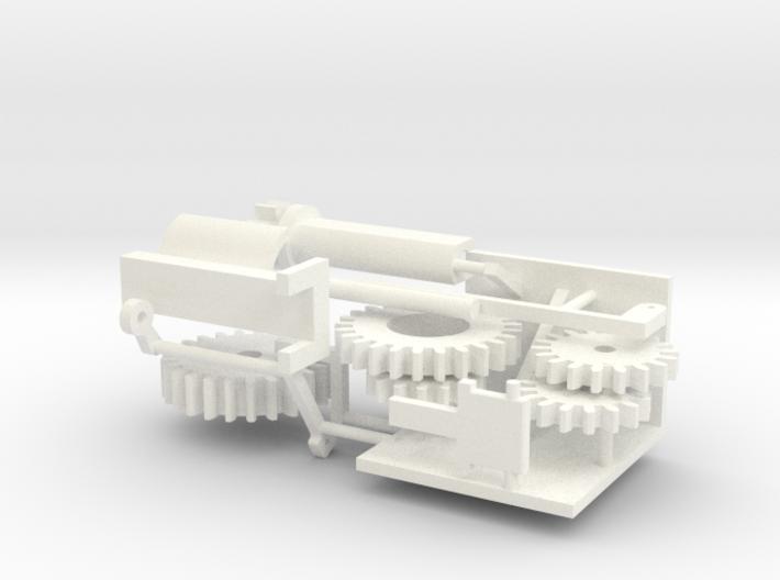 Rmah (A61), Crane, Radar & Ramp Function (1:200) 3d printed