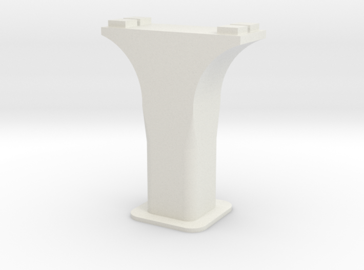 HO/1:87 Precast concrete bridge column set (wide) 3d printed