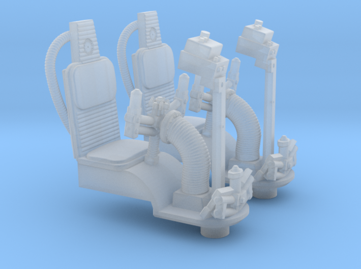 YT1300 BANDAY TURRET WELL SEAT SET 3d printed