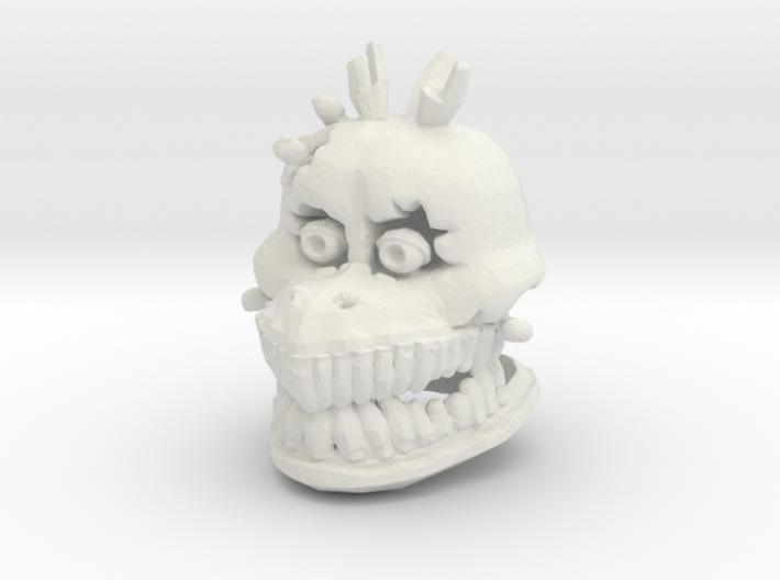 Custom Scary Bird 3d printed