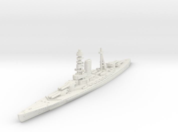 1/1250 IJN No.13 BB 3d printed