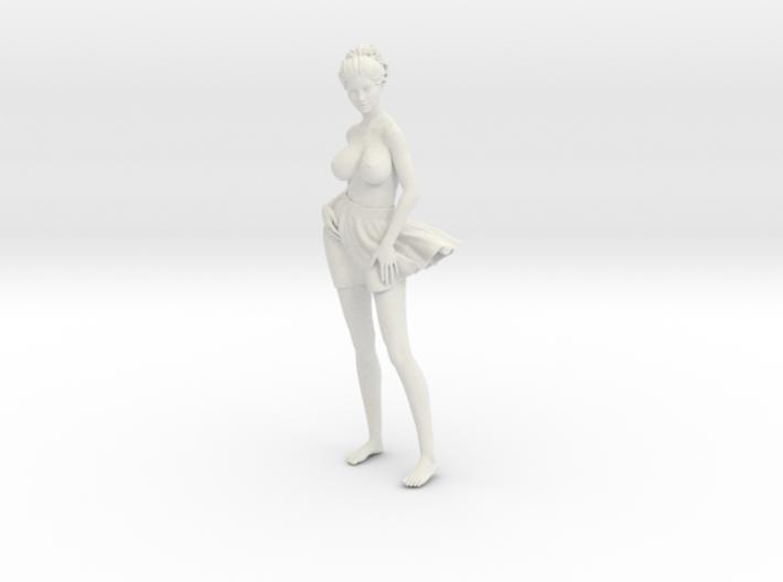 Miniskirt Girl 013-1/10 3d printed