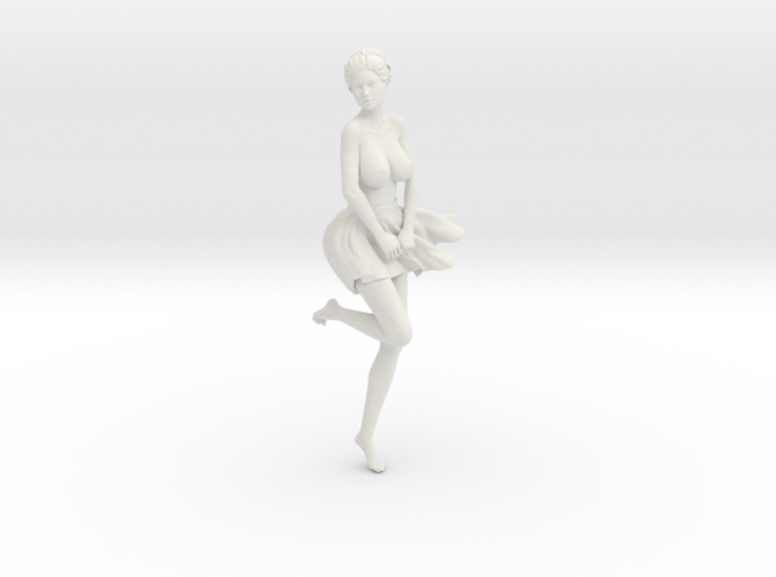 Miniskirt Girl 017-1/10 3d printed