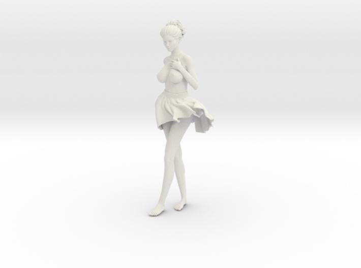 Miniskirt Girl 019-1/10 3d printed