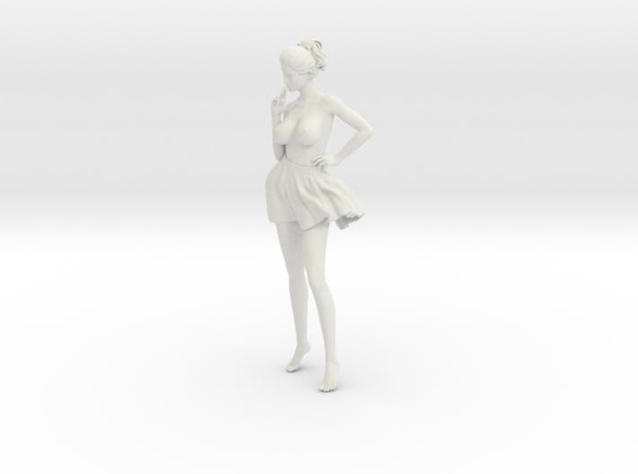 Miniskirt Girl 022-1/10 3d printed