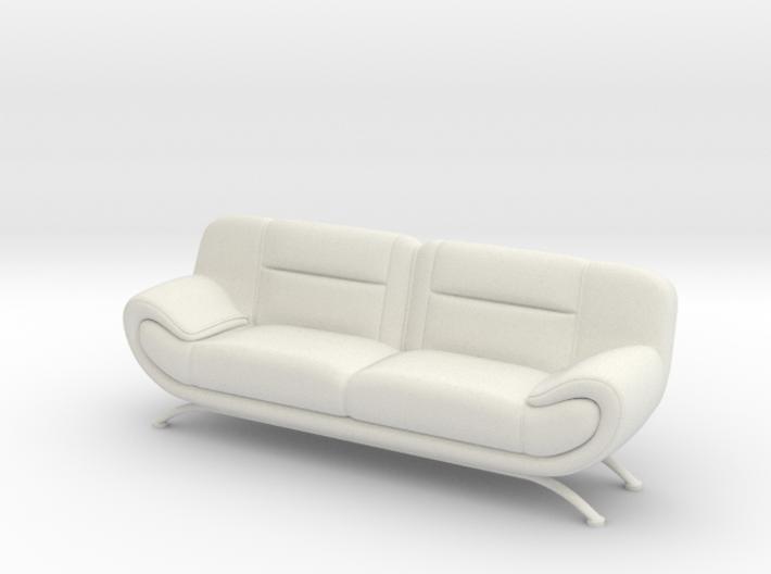 Sofa 1/18 001 3d printed