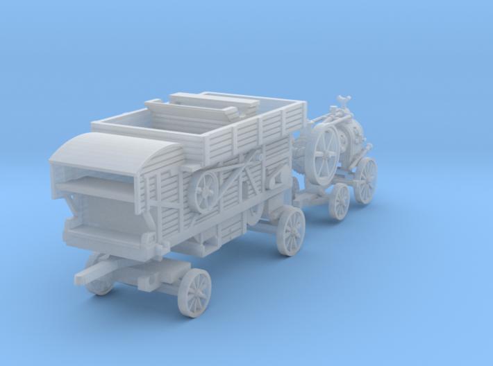 Dampfdreschen SET (N 1:160) 3d printed