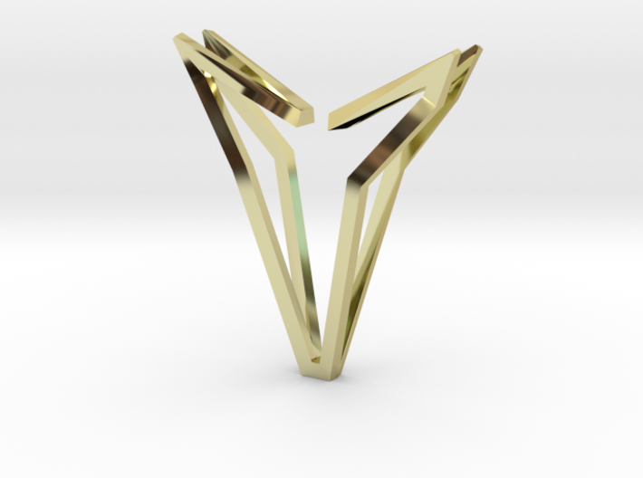 YOUNIVERSAL Simplicist, Pendant. Simplified Chic 3d printed