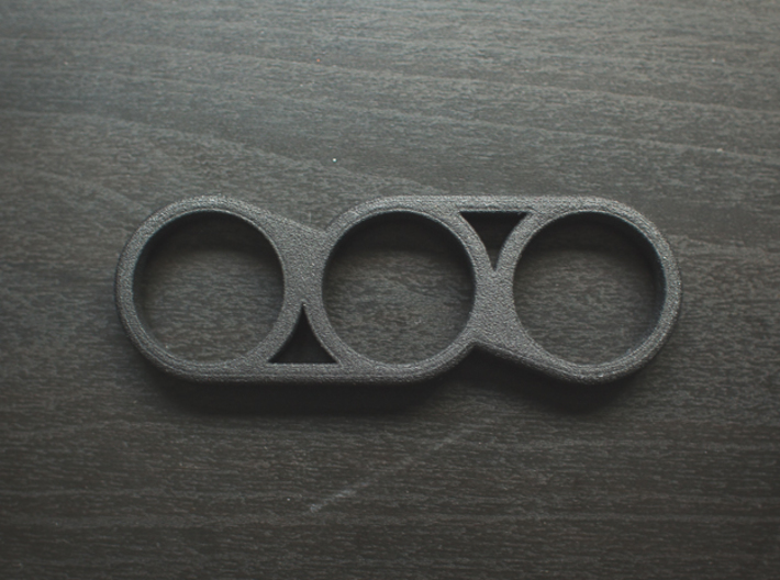 The Offset - Fidget Spinner 3d printed