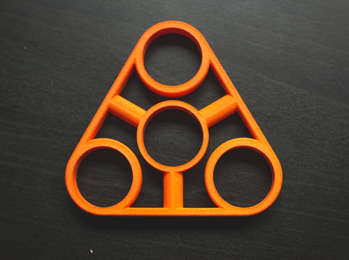 The Truss - Fidget Spinner - EDC 3d printed