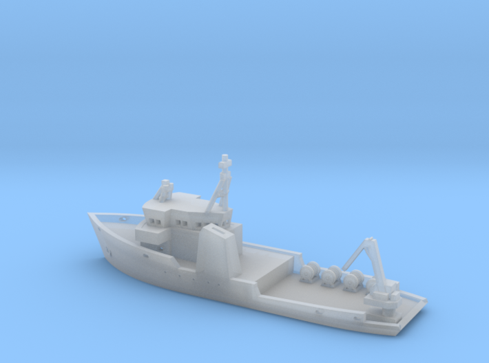 031B Freedom Star 1/700 3d printed