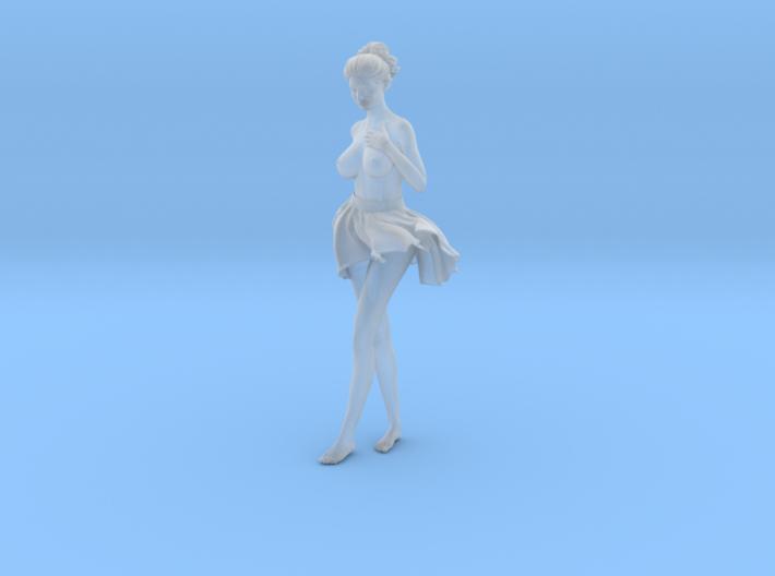 1/24 Miniskirt Girl 019 3d printed