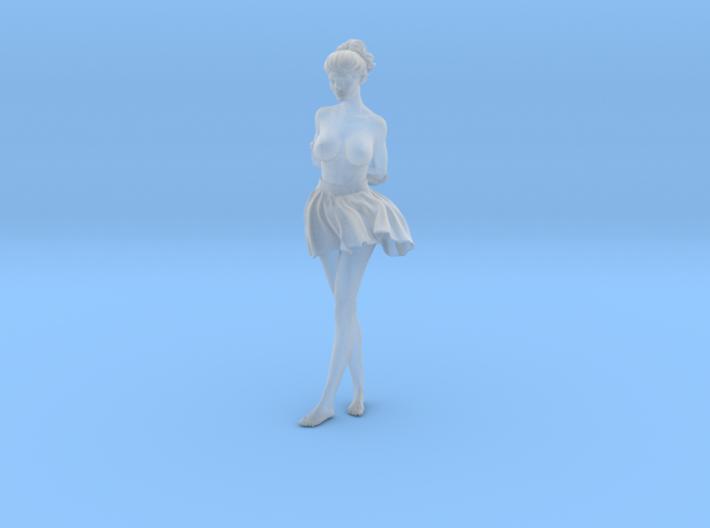 1/24 Miniskirt Girl 030 3d printed