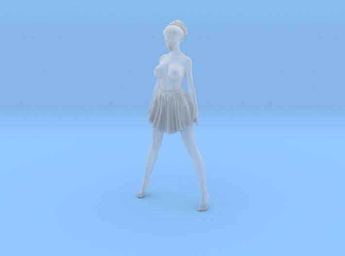 1/24 Miniskirt Girl 031 3d printed