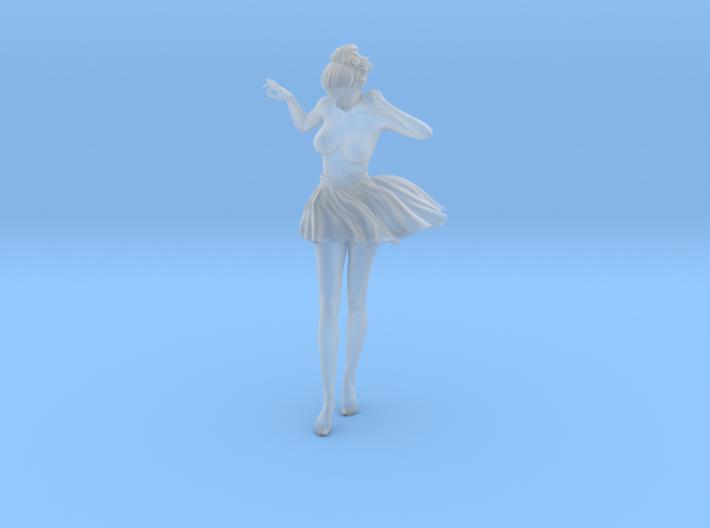 1/24 Miniskirt Girl 016 3d printed