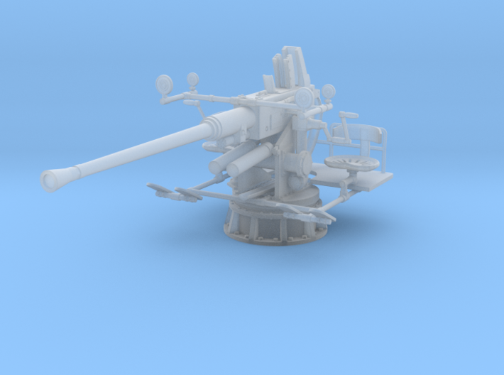 1/32 40mm Single Bofors [UnElevated] 3d printed