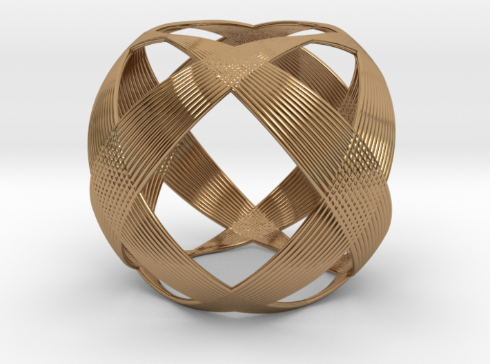 0403 Spherical Cuboctahedron (d=6cm) #003 3d printed