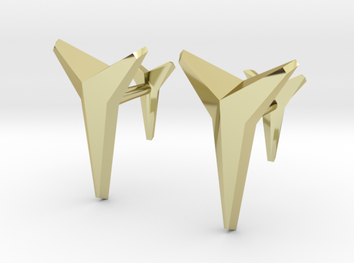 YOUNIVERSAL Solid, Cufflinks. 3d printed