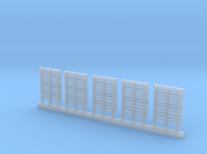 WOODEN PALLETS HO Scale 5 pack 3d printed