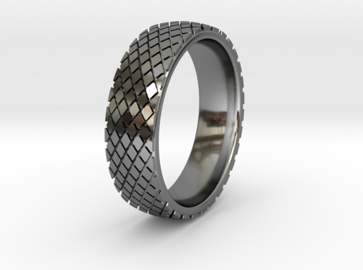 Heavy Equipment Tire Ring Sizes 5-13 3d printed