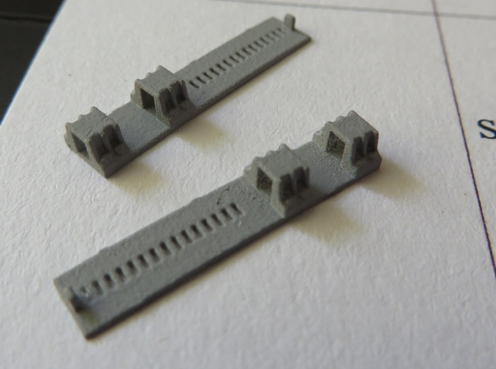 Erie Transfer Bridge Toggle Pocket Assembly - 1/87 3d printed