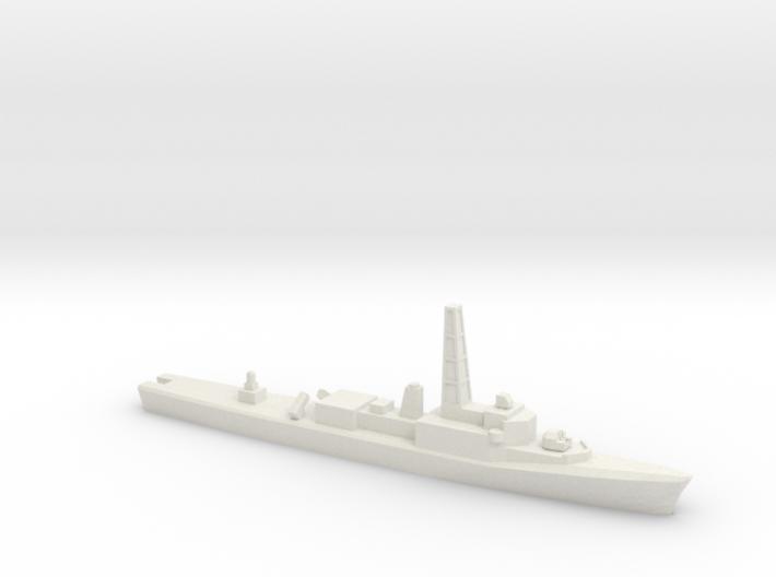 Restigouche-class DDE (Gulf War Refit), 1/1800 3d printed