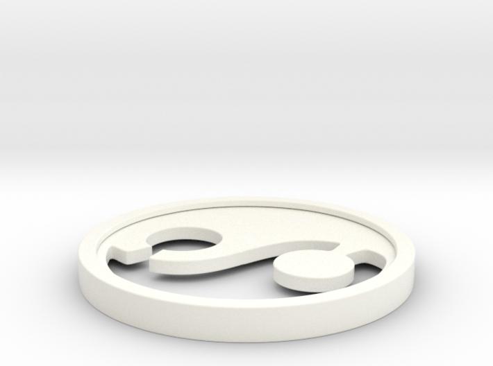 Yin Yang 3d printed