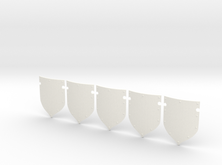 5 Storm Shields 3d printed