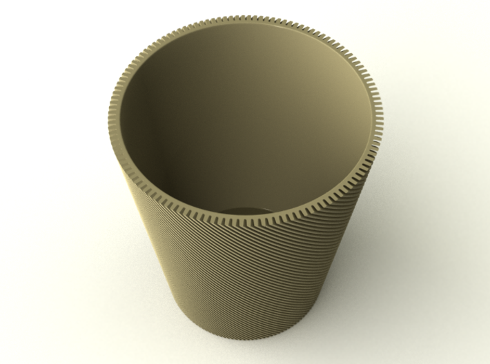 Spiral Cup 3d printed