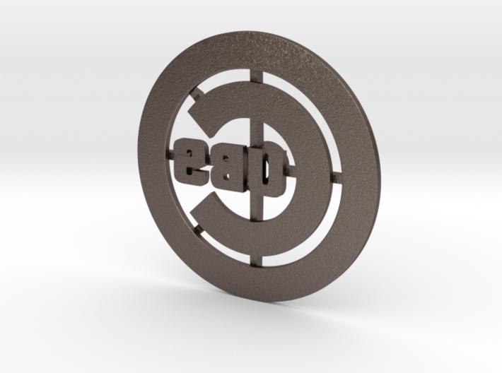 Cubs Branding Iron 3d printed