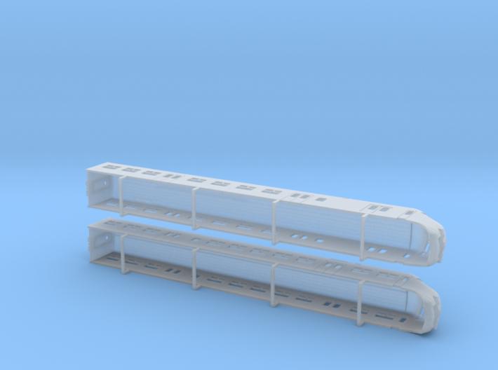 Plan V, V1 3d printed