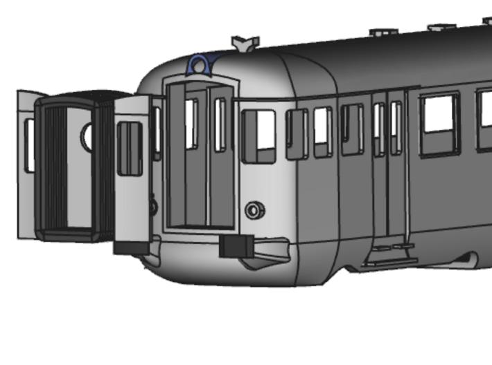 ALn773 Prima Serie 3d printed con tappo a porte aperte e mantice esteso