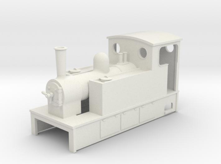 TTn3 Side tank tram Loco 61 3d printed
