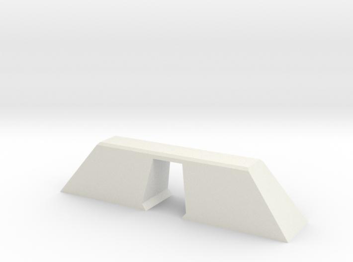 N Scale Bridge Modern Single 1:160 3d printed