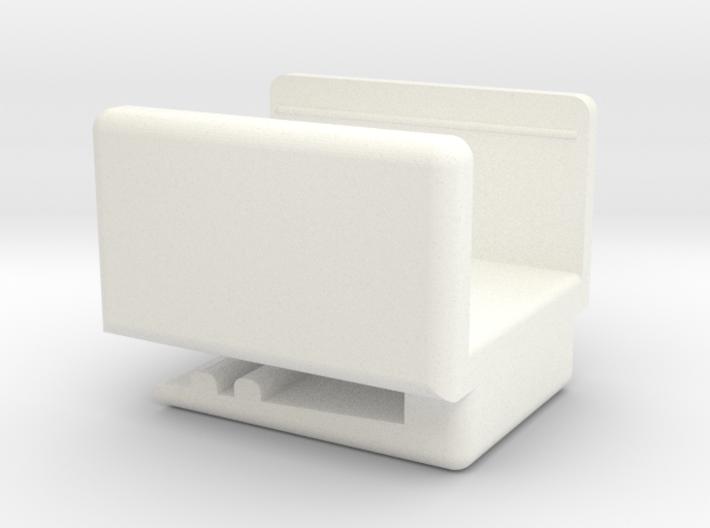 UNA - Amazon Dash (IoT) Button Belt Clip 3d printed