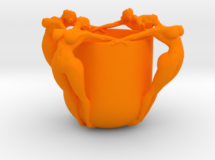 SEXY CUP IN 12CM 002 3d printed