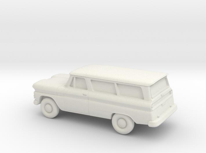 1/87 1960-61 Chevrolet Suburban 3d printed