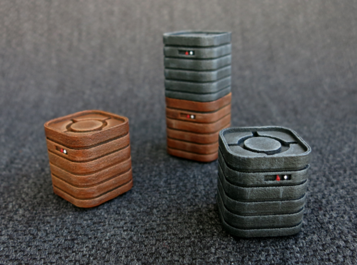 IA Crate Set 3d printed Model not supplied painted