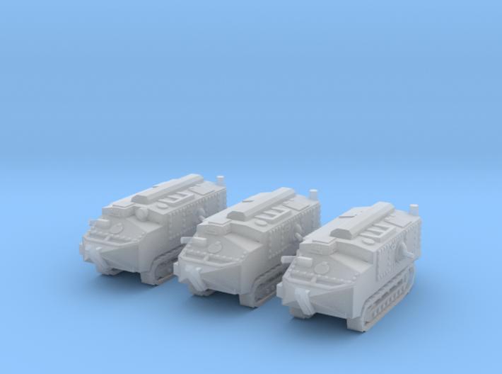 1/144 Schneider CA-1 tank (3) 3d printed