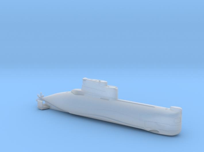 1/700 U-Boot Typ 202 | German Submarine Type 202 3d printed
